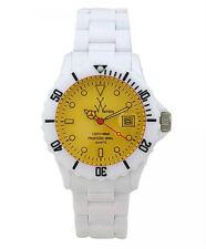 "Orologio ToyWatch modello ""Fluo Mood"" Bianco-giallo"