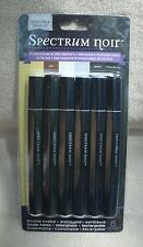 "Spectrum Noir Double Ended, Alcohol Ink Markers, "" Essentials"" 6ct. ~ NEW"