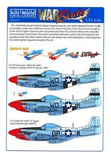 Kits World Decals 1/32 NORTH AMERICAN P-51D MUSTANG Fiesty Sue & Lil' Aggie