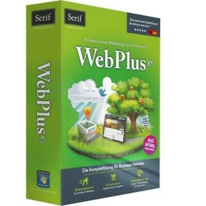 Serif Avanquest WebPlus X5 DE MiniBox Webdesigner für Windows Website