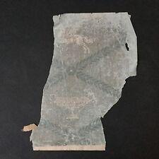 Papier Peint Ancien Fin XVIIIè Coupe Pégase Georgian Wallpaper Last 18thC