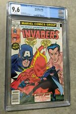 The Invaders #26 CGC 9.6 Near Mint Grade Human Torch Cover NM