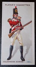 Coldstream Guards  Egypt circa 1801    Vintage Uniform Card