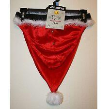 New with Tags, Joe Boxer, Christmas Santa Hat and Jingle Thong Size Medium