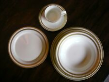 RALPH LAUREN CHINA MORGAN GOLD 5 PIECE PLACE SETTING  NEW In Box
