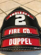Cairns Fire Helmet Front Shield Badge Firefighter Anglesea