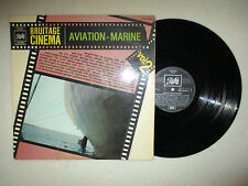 "2 LP 33T BRUITAGE CINEMA ""Vol 2 aviation marine"" PATHE CPTX 240 829 FRANCE §"