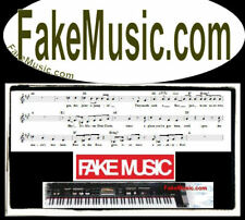 Fake Music .com Download Web Domain Name For Sale URL Background Sounds Notes