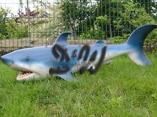 HAI 150 cm SONDERANFERTIUGNG zum AUFHÄNGEN Tier FISCH Figur Deko maritim SHARK