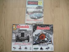 3x CAR MAGAZINES ~THE MOTOR 30 JAN 1963 + 2x THE AUTOMOBILE MAR 2011 + JULY 2012