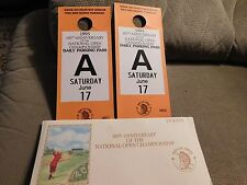 Golf National Open Parking Passes 100th Anniversary Collectible
