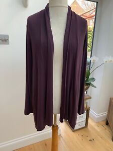 Bobeau Nordstrom Aubergine Cardigan Size Large New With Tags $58