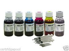6x4oz Refill ink for Canon PGI-250 CLI-251 MG6320 MG7120 MG7520 iP8720  gray