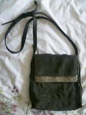 NEXT grey and silver suede bag * Messanger across shoulder handbag * Zip