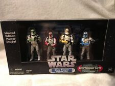 Star Wars Clone Trooper Builder 4 pack Colored Limited Entertainment Earth