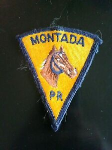 Puerto rico police patch, Mounted unit