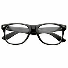 Fashion Retro Unisex Mens Womens Clear Lens Vintage  Nerd Geek Glasses Eyewear