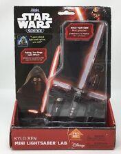 Uncle Milton Star Wars Science Kylo Ren Mini Lightsaber Lab