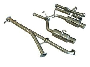 "Mitsubishi 3000GT VR4 Turbo Dodge Stealth RT 91-99 3"" Turbo-Back Exhaust System"