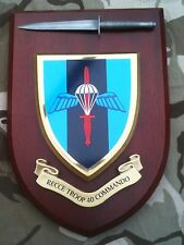 40 Commando Recce Troop Royal Marines & Pewter Model Military Army Wall Plaque