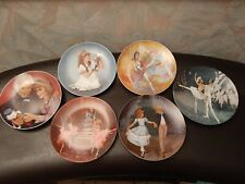 The Nutcracker Ballet Collection Fine China Plates Complete Set Of 6 Ex.