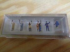 N 1:160 Preiser 79141 TRAM STAFF fahrgäste. figures. orig. Packaging