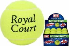 NEW M.Y ROYAL COURT TENNIS BALL SPORT PLAY CRICKET PRACTICE DOG BEACH FUN KIDS