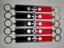 (10) Mini LED Flashlight Sticks Keychain Key Ring Camping Home Safety Light