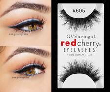 (LOT OF 6) Red Cherry #605 False Eyelashes AUTHENTIC Wispies BERKELEY Black