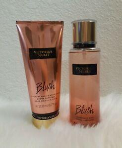 Victoria's Secret BLUSH Fragrance Mist 8.4 & BLUSH Body Lotion 6.7 oz Set Rare!