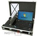 Mobiles BÜRO ~T420 Laptop mit Drucker im Koffer~ HP 100 Drucker!
