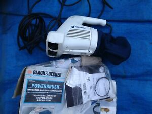 Black & decker AC7000 hand held vacuum cleaner