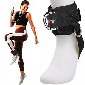Ankle Strap 4D Glute Training Cable Machine Attachment Multi Gym Foot Accessory