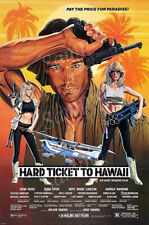 Posters USA - Hard Ticket to Hawaii Movie Poster Glossy Finish - PRM499