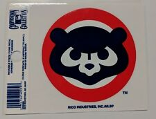 """Chicago Cubs 3 x 4"""" Small Static Cling - Truck Car Auto Window Decal NEW Cubbies"""