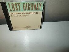 DONAVON FRANKENREITER - LIFE , LOVE & LAUGHTER rare Single cd LOST HIGHWAY