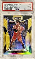 2019-20 Panini Kevin Porter Jr. Silver Neon Orange Prizm Rookie RC /149 PSA 9🚀