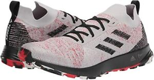 Adidas Terrex Two Parley Men's Trail Running Hiking Shoes Gray/Red/Black FU7659