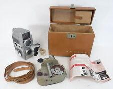 VTG Revere Eye-Matic Magazine Eight CA-4 & Bell & Howell 8 MM 134 Movie Cameras