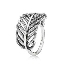 NEW! Authentic Pandora Light As A Feather Clear CZ Ring #190886CZ-48 (4.5) $85