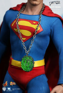 HOT TOYS SUPERMAN - MMS152 - SIDESHOW EXCLUSIVE KRYPTONITE CHRISTOPHER REEVE