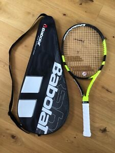 Babolat Aero Jr26 Tennis Racket and Cover. ONE DAY LISTING!