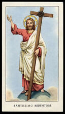 santino-holy card EGIM n.214 SS.REDENTORE