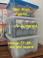 💥Auswahl Star Wars vintage Figuren Kenner Hasbro NEU OVP MOC Karten MC retro us