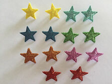 Brightly Coloured Shiny Star Buttons by Dress It Up Jesse James Buttons 3372