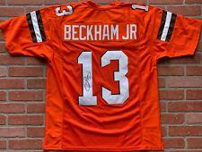 Odell Beckham Jr. autographed signed jersey NFL Cleveland Browns JSA Giants LSU