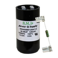 30-36 uF x 125 VAC BMI # 092A030B125AC1A Motor Start AC Capacitor with Resistor
