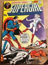 Adventure Comics #398 October 1970 Fine DC Comics Supergirl Dead Super Pets?