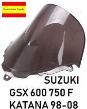 Suzuki GSX 600/750 F KATANA Pantalla De Doble Burbuja cupula negra 98 - 08
