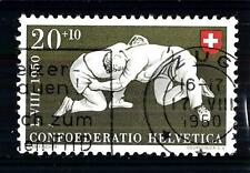 "SWITZERLAND - SVIZZERA - 1950 - ""Pro Patria"". Sport diversi. 20+10c. Lotta"